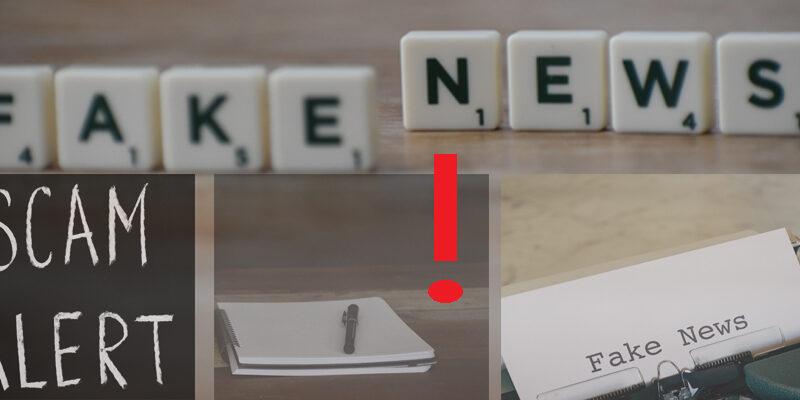 Fake News Collage von Silke